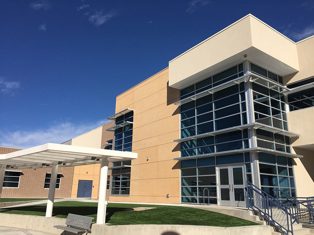 Los Lunas High School Phase I Construction is Complete
